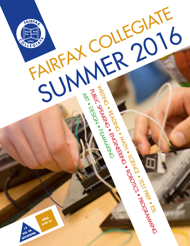 Fairfax Collegiate 2016 Catalog